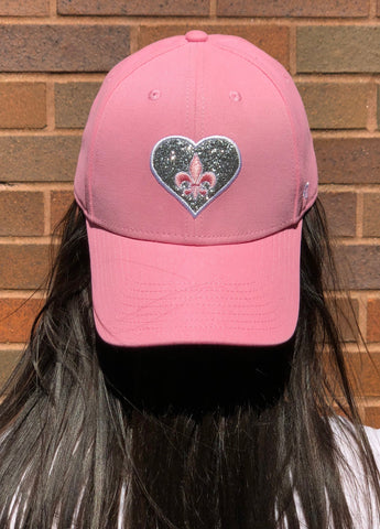 STLFC Pink Heart Hat - (Youth)