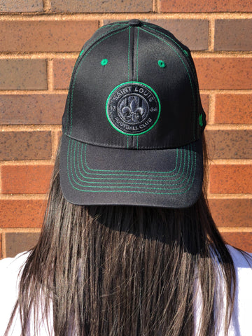STLFC Black/Green Hat