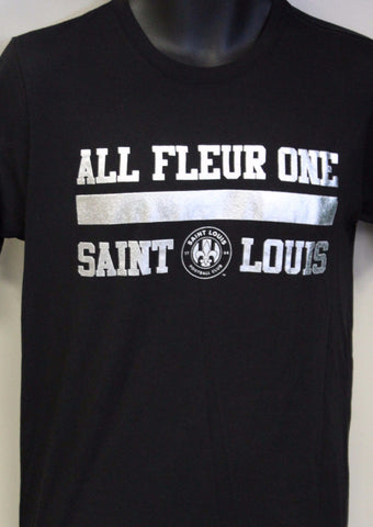 ALL FLEUR ONE BLACK/SILVER