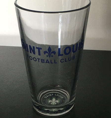 STLFC Pint Glass with Logo 2016