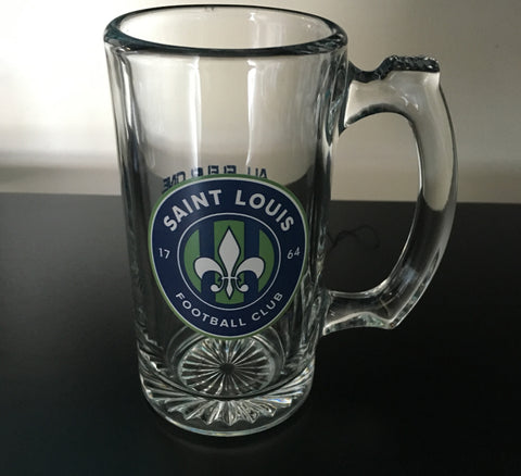 STLFC Glass Mug (In-Store Only)