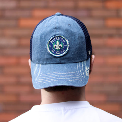 STLFC Denim Trucker Hat