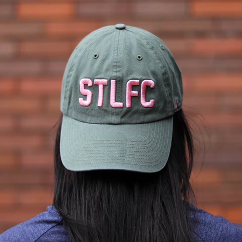 STLFC Green/Pink Hat - Women's