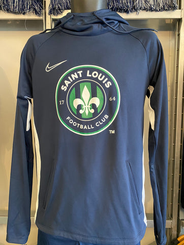 STLFC Full Chest Logo Youth Nike Lightweight Hoodie