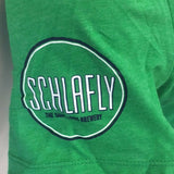 STLFC Schlafly Mens Green T Shirt
