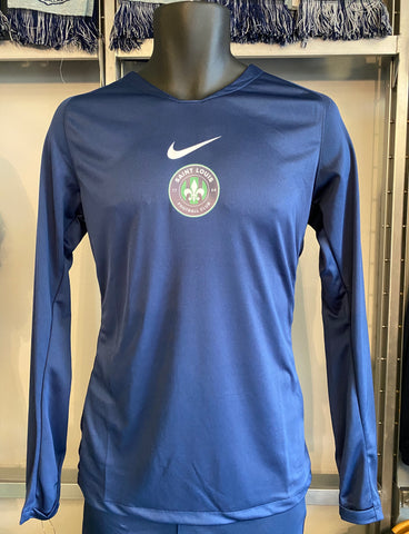 STLFC Youth NIKE Base Layer Long Sleeve Top