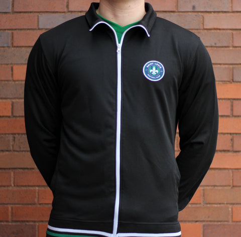STLFC Black Retro Track Jacket - Men's