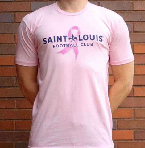 STLFC Pink Breast Cancer Awareness Shirt - Youth
