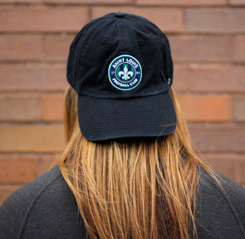 STLFC Black Primary Logo Hat 2018-WMS