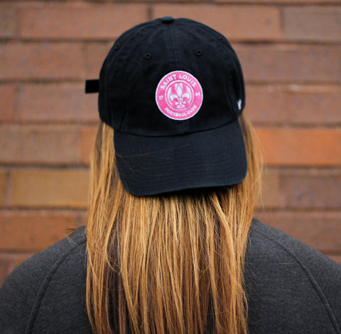STLFC Black Breast Cancer Awareness Hat - Women's