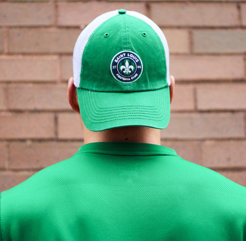 STLFC Green Fitted Hat