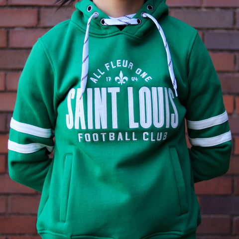 STLFC Green Hockey Hoodie - Women's