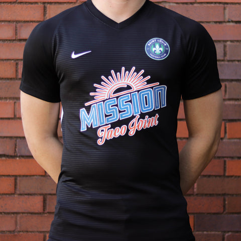 STLFC 2018 Black Warm Up Mission Taco Kit - Men's