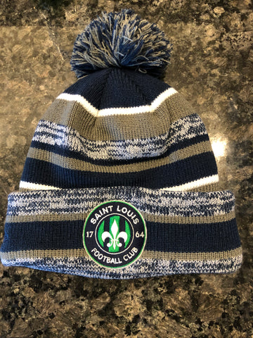 New Era STLFC Winter Hat - Navy/Graphite