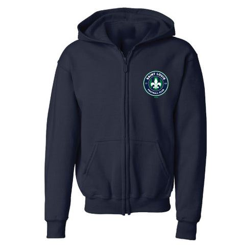 STLFC Youth Full Zip Hoodie