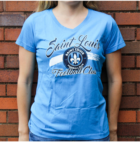 STLFC Cobalt V Neck Shirt - Women's