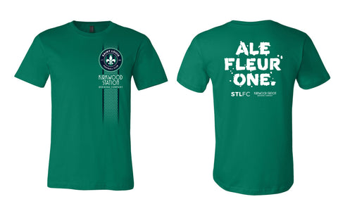 STLFC & Kirkwood Station Brewing Tee