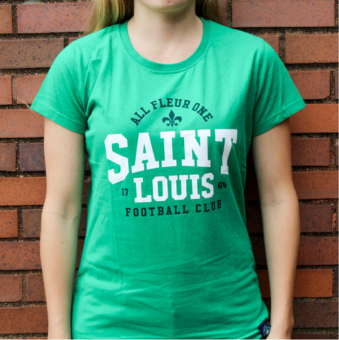 STLFC Green All Fleur One Shirt - Women's