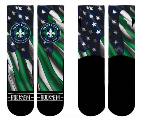 STLFC Club and Country Socks