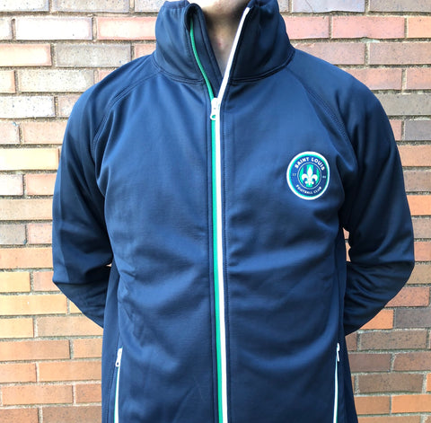 STLFC 2017 Navy/Green Full Zip Jacket - Men's