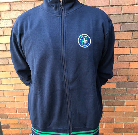 STLFC Navy Full Zip - Men's