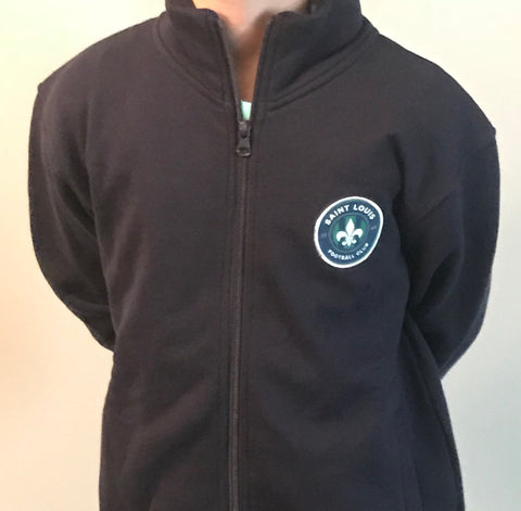 STLFC Navy Full Zip - Youth