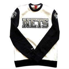 Mitchell & Ness Retro Crewneck, Brooklyn Nets, M
