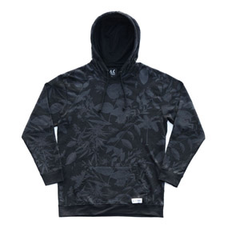 Akomplice Magic Floral Hoodie, Blk, S
