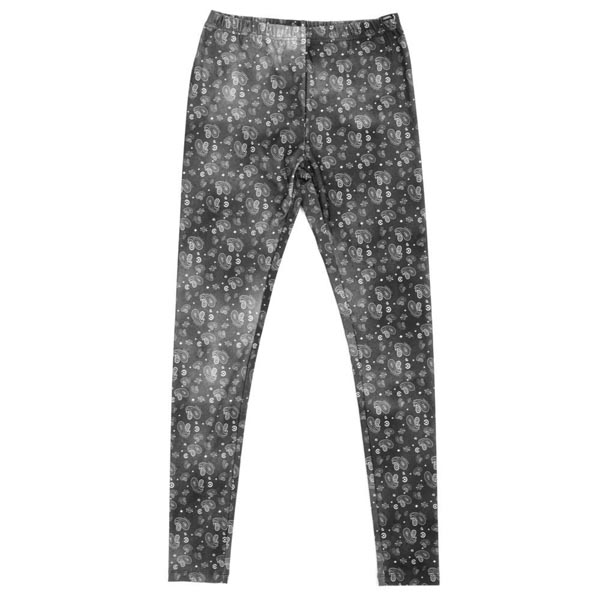 Crooks & Castles Ladies Squad Love Knit Leggings