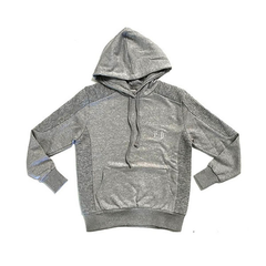 D9 Premium Pleated Hoody, Gry, M