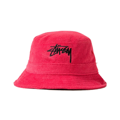 Stussy Stock Terry Bucket Hat