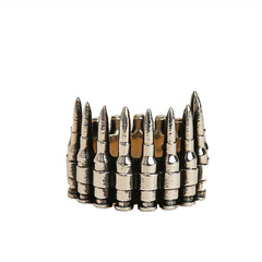 Han Cholo Bullets Ring Sterling