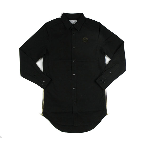 D9 Elongated Solid Woven, Blk, M