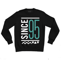 9 Five Since 95 Crewneck, Blk, XL