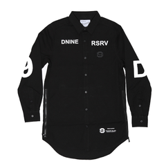 D9 Reserve The Cyclone Elongated Woven Shirt