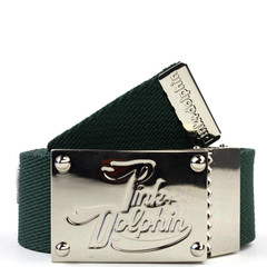 Pink Dolphin Embroidered P Belt