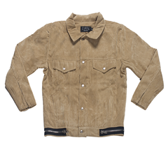 Civil Regime Suede Trucker Jacket