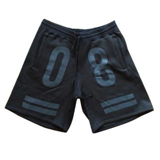 Civil Teamsta Fleece Shorts, Blk, XL