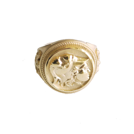 "Kingdom of Macedon - ""Alexander The Great"" Ring"