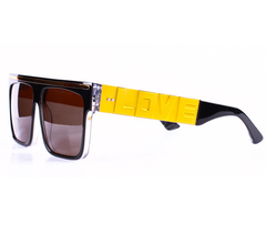 Vintage Frames Love Hate Sunglasses, Blk/Gold, Sunglasses