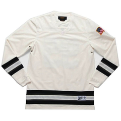 10 Deep 95 Mesh Hockey Jersey, Off Wht, XXL
