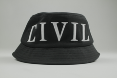 Civil Regime Bucket Hat , Blk, Bucket Hat