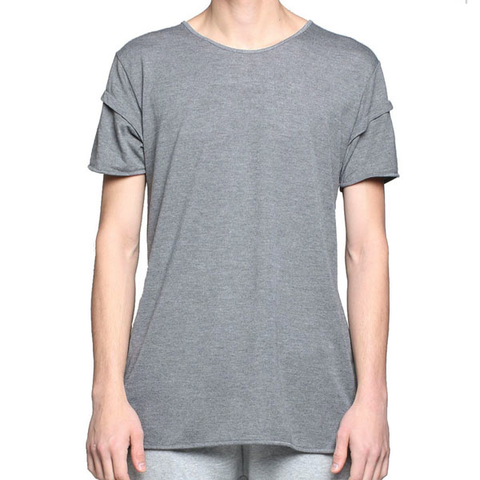 Entree UNKNOWN Gray Elongated Tee