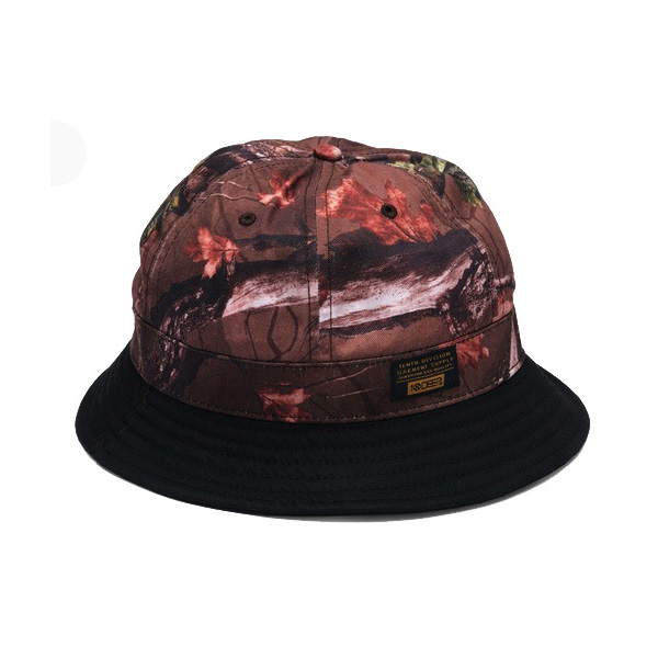 10 Deep H14 High-Low Fisherman Hat , Hunting Camo, S/M