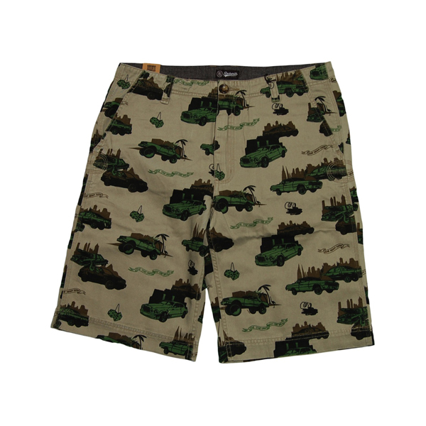 Rocksmith Pop The Trunk Short olive