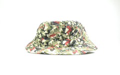 GrindHouse Camo Girl Bucket Hat, Red, Bucket Hat