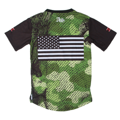 Filthy Dripped Art and Sew Retro 9 Militia Tee