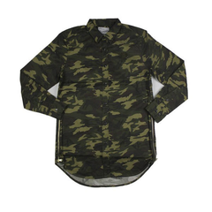 D9 Elongated Solid Woven, camo, XL