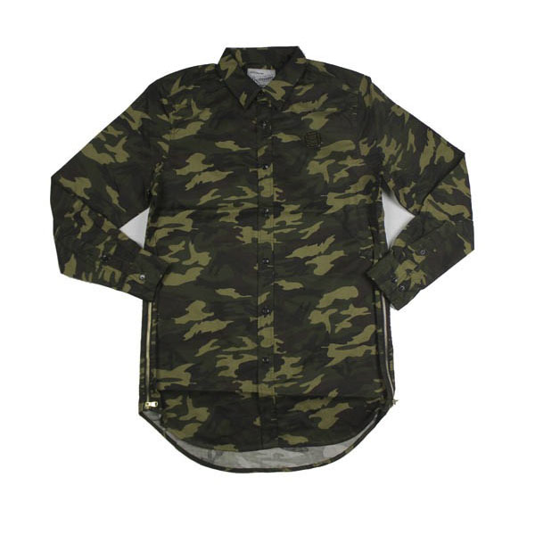 D9 Elongated Solid Woven, camo, S