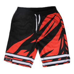 Filthy Dripped Art & Sew Jordan Spizike Son of Mars Shorts